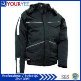 Популярная допустимый теплая водоустойчивая куртка зимы с отделяемым клобуком (YFS115)