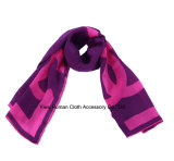 Горячее Sale Polyester Printed Scarf с Bright Color Scarf