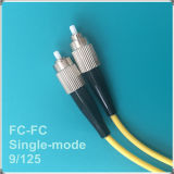 FC-FC Upc Single-Mode Faser-Optiksteckschnür