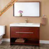 Самомоднейший шкаф ванной комнаты твердой древесины Fed-1255
