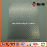 Plata ACP metálico de la serie del tacto del precio de fábrica de Yalida