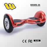 La vespa de equilibrio 2 del uno mismo elegante eléctrico grande más barato de la talla 2016 rueda 10 pulgadas Hoverboard