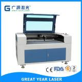 Corte del laser y máquinas de grabado para los materiales redondos (GY-9060E/1080E/1280E)