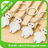 Förderung-kundenspezifisches Firmenzeichen-Metallandenken-Geschenk Keychain (SLF-MK004)