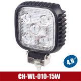 """4.9 """" 15W het LEIDENE van de Legering van het Aluminium Licht van het Werk voor de Motor van de Brand/Bouw/OpenluchtVerlichting (CH-wl-010-15W)"""