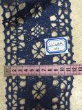 Laço do algodão com tecelagem, largura personalizada e cor