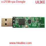 Transceptor do Gateway Cc2538 Cc2592 do Dongle do USB de Cc2538+PA