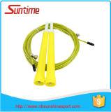 Corde de saut de câble de vitesse de forme physique, corde de saut, corde de saut à grande vitesse réglable, corde de saut de Crossfit