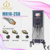Machine van de Schoonheid van de Radiofrequentie van Microneedles rf de Verwaarloosbare (MR16-2SB)