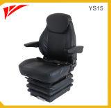 Suspensión mecánica del asiento plegable operador de grúa