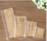 Einfaches Design Transparet PVC Brushes Bag mit Ziplock