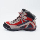 Водоустойчивые ботинки неподдельной кожи Unisex Hiking