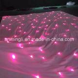 La cerimonia nuziale del LED copre nel colore rosa