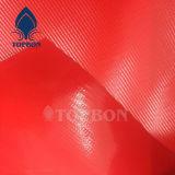 Bâche de protection de tissus enduite par PVC de prix usine pour la couverture Tb096 de camion