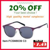Lunettes de soleil unisexes neuves en métal de Hotsale de bonne qualité du modèle Fcsm8093