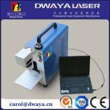 CNC van het Karakter van 2mm de Laser die van de Vezel Machine merken