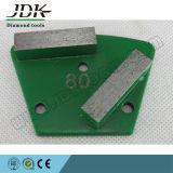2개의 장방형 다이아몬드 세그먼트 사다리꼴 가는 단화