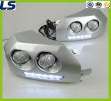 Luz Running Daytime (DRL) para a lâmpada do canto do amortecedor dianteiro do cruzador de Toyota FJ