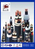Пожаробезопасный силовой кабель оболочки PVC 4 сердечников
