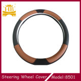 A mistura colore a tampa de roda Eco-Friendly da direção do carro do couro genuíno