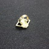 Boucle d'or de pierre de Faux d'hexagone