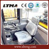 Carregador da roda da tonelada Zl50 do chinês 5 com os braços de levantamento dobro