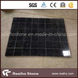 よい価格の自然な花こう岩の絶対黒い石造りの床タイルか床タイル