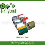 Revestido & gravou a bobina de alumínio (ALC1105)