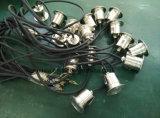mini única luz ao ar livre clara subterrânea do Paver do diodo emissor de luz do diodo emissor de luz 1W com avaliação IP68