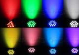 2016new! Nuovo indicatore luminoso di PARITÀ di disegni 18PCS RGBW LED di nuovo arrivo