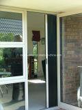 Schermo flessibile dell'insetto della finestra di alluminio della parte posteriore di rotolamento