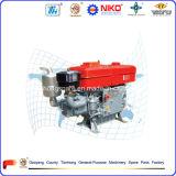 Model Zs1115 4 - Dieselmotor van de Cilinder van de Slag de Enige