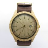 Houten Horloge van het Horloge van de Boom van de fabrikant het Krokodille