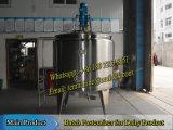 500L酪農場のバッチ低温殺菌器