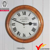 Wall Decor redonda reloj de metal retro