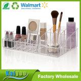 Organizador cosmético de la gama de colores del almacenaje y del maquillaje de la calidad superior multi de los compartimientos