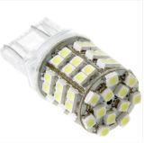 白いT20 54 1210 SMD LED車のテールブレーキ回転バックアップ電球ランプ