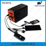 jogos solares da iluminação 10W com o carregador portuário do telefone do USB 6