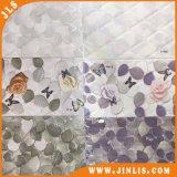 Azulejo de cerámica de la pared de la impresión antirresbaladiza de la inyección de tinta 3D con diseño de los útiles