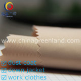 100%Polyester 75D Memory Twill Fabric pour Garment Textile (GLLML207)