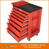 Oficina Garage Metal Tool Cabinet/Tool Trolley/Tool Cart com Handle e Wheels