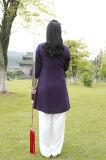 Vêtement sportif chinois de Han du ressort des femmes de Chi de Tai de Taoism et du lin textile d'été