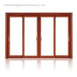 Дверь Coated алюминиевой рамки порошка изоляции жары нутряная (FT-D143)