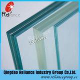 vidrio de cristal laminado del vidrio/PVB /Layered de 10.38m m (claro, rojo, blanco, azul, negro, bronce)