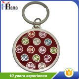 Porte-clés en métal personnalisé à la mode
