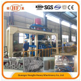 Não máquinas inteiramente automáticas hidráulicas e maquinaria do Hydroforming do bloco do tijolo da imprensa da vibração
