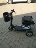 трицикл 350W 48V миниый складной электрический с батареей лития (MS-013)