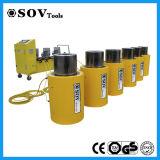 Cilindro hidráulico ativo dobro do Tonnage elevado da série do Sov Clrg
