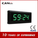 ¡Alta calidad [de Ganxin]! Mini reloj verde del indicador digital LED de 1.8 pulgadas