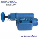 Válvula de regulación del flujo con el pistón eléctrico